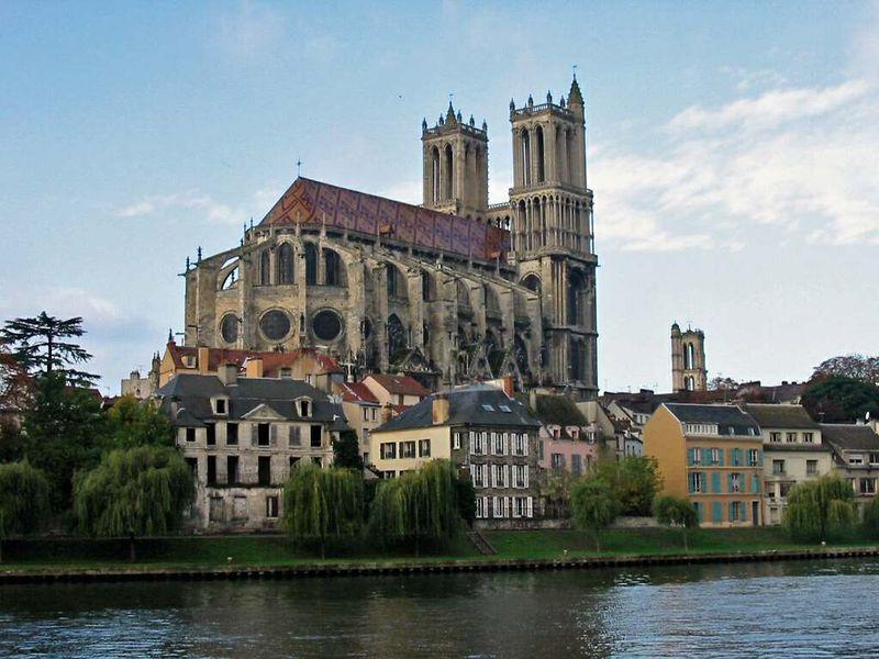78 Mantes La Jolie Collégiale Notre Dame